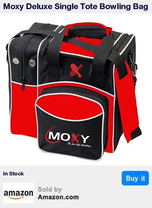 Moxy, No Pin Left Standing is our exclusive product line and bowling bag. We stand behind this quality bowling bag as this comes with a 5 Year Manufacturer Warranty. * For an affordable, yet durable bowling bag, choose Moxy. This stylish 1 ball deluxe bowling bag is the perfect bag to carry your bowling ball, shoes and accessories to the lanes. * This bowling bag has a side compartment to hold up to a mens size 14 shoe and a foam ball holder for your bowling ball to protect the ball. For you