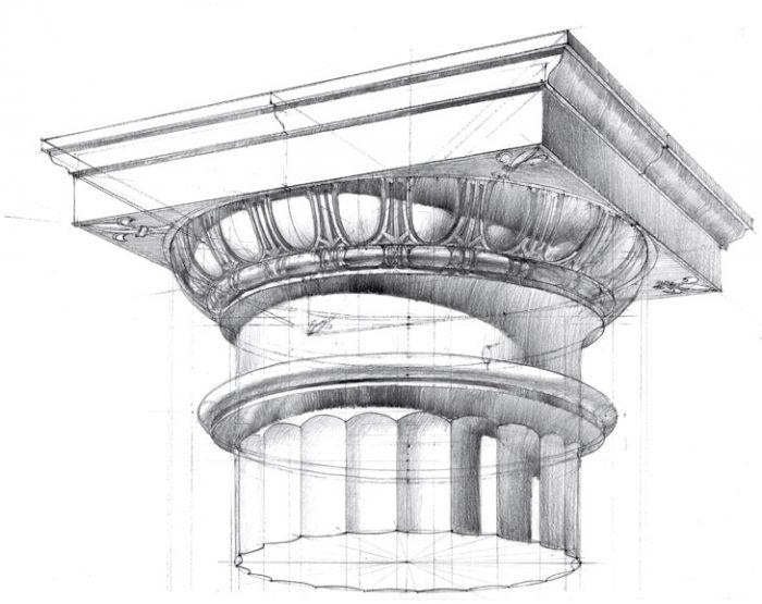 Michal Suffczyński - architecture drawing