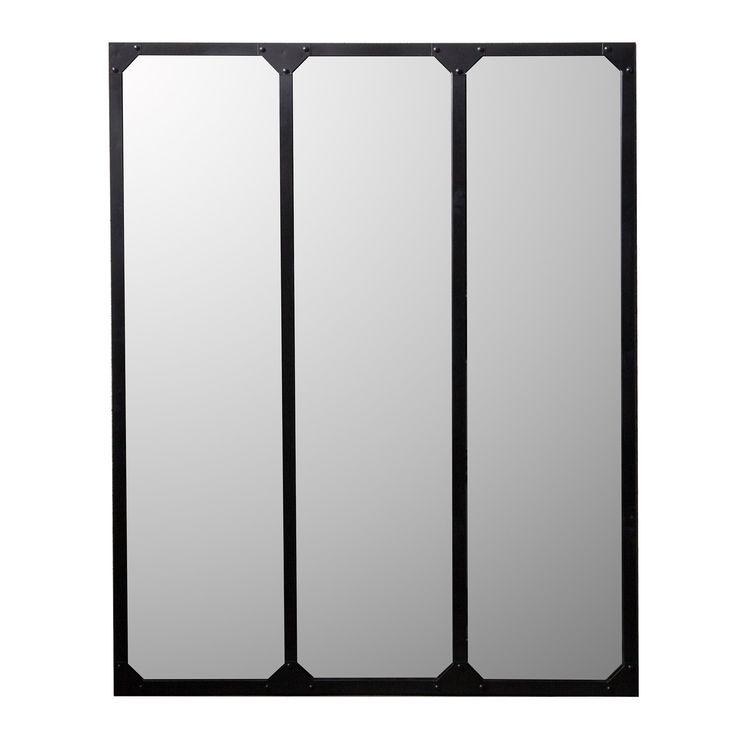 les 10 meilleures images du tableau miroir type industriel sur pinterest miroirs style. Black Bedroom Furniture Sets. Home Design Ideas