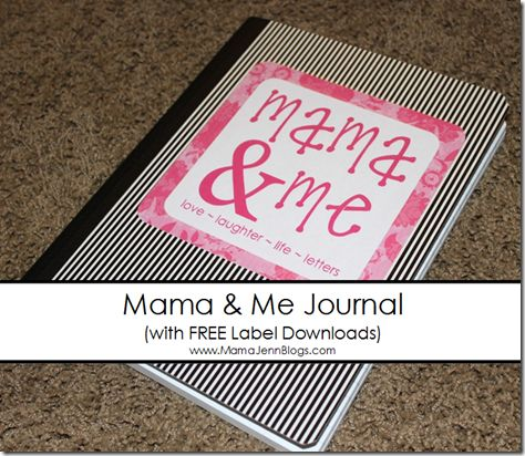 Mom and Me journal. Write letters back and forth with your kids. Ask a question, answer a question. Leave under their pillows...I love this idea. -- I want to do this with my mom: The Notebooks, Communication Open, Journals Labels, Kids Writing Journals, Child Writing, Journals Ideas, Pens Pals, Mama Jenn, Writing Letters