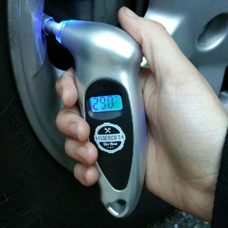 This is another small, compact and lightweight tire pressure measuring device that every driver should have in his emergency kit. Not only is it extremely accurate and it can provide results in BAR/KPA/KG per cm2 or PSI, but it also comes with a lighted LCD screen that allows you to use it at any time of the day or night. Easy to operate and straightforward, this digital tire pressure measuring device is certainly a great investment.