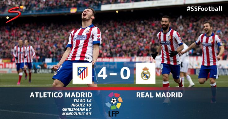 #LaLiga - RESULT: An incredible display by the champions as they completely outplay their city rivals. #SSFootball