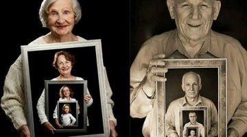 Das ist eine echt sehr coole Idee, alle Generationen auf ein Foto zu bringen! Von jung bis alt! Wunderbar!