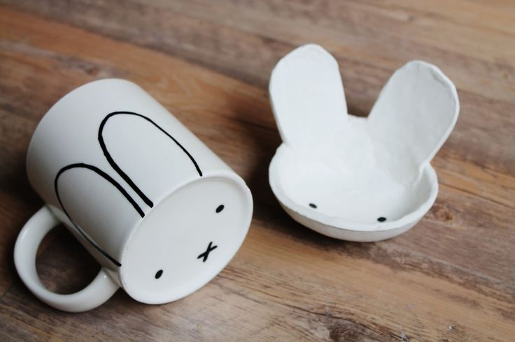 Miffy party favors (mugs)