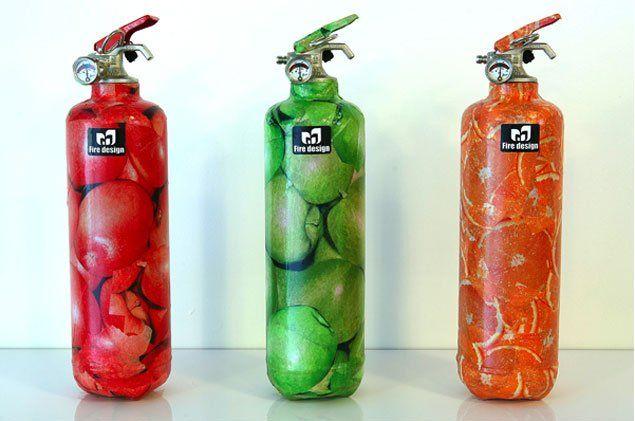 3 bottles fire extinguisher