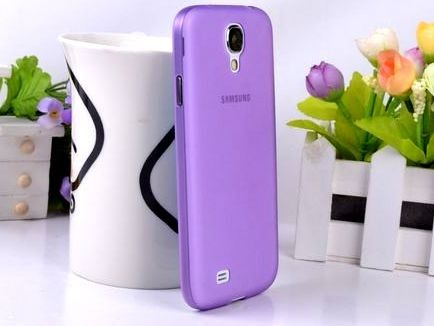 Wholesale Cell Phones Accessories in Toronto Canada SAMSUNG GALAXY S4/ I9500 ULTRA SLIM MATTE CASE - PURPLE  $9.99