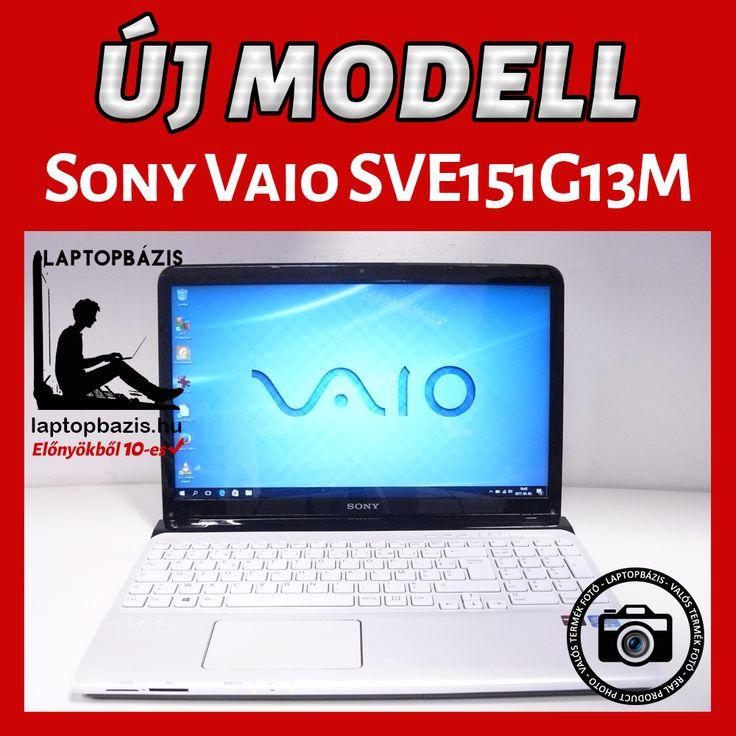 Sony Vaio SVE151G13M laptop http://laptopbazis.hu/termek/sony-vaio-sve151g13m-laptop-intel-core-i33110m-4-gb-ram-750-gb-hdd-156-hd-led-kijelzo-windows-10-webkamera/372