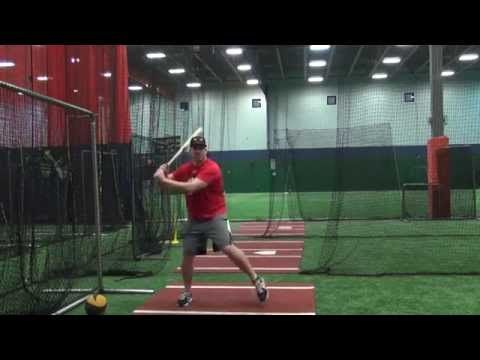 Bat Speed Baseball Hitting Drill to Eliminate Bat Drag and Casting | Dead Red Hitting - YouTube