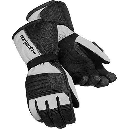 Cortech Journey 2.1 Youth Snowboard Snowmobile Gloves - Silver/Black  Cortech Journey 2.1 Snowboard Gloves for Youth