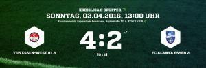 TuS Essen-West 81 3 - FC Alanya 4-2