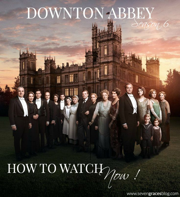 How To Watch Downton Abbey Season 6 Now in the U.S. You can watch Downton Abbey with the British! Easy and no fuss method!