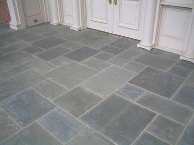 Bluestone tiles