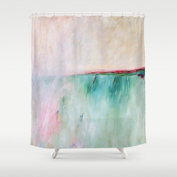 1000 Ideas About Pink Shower Curtains On Pinterest Beach Shower Curtains Restroom Ideas And