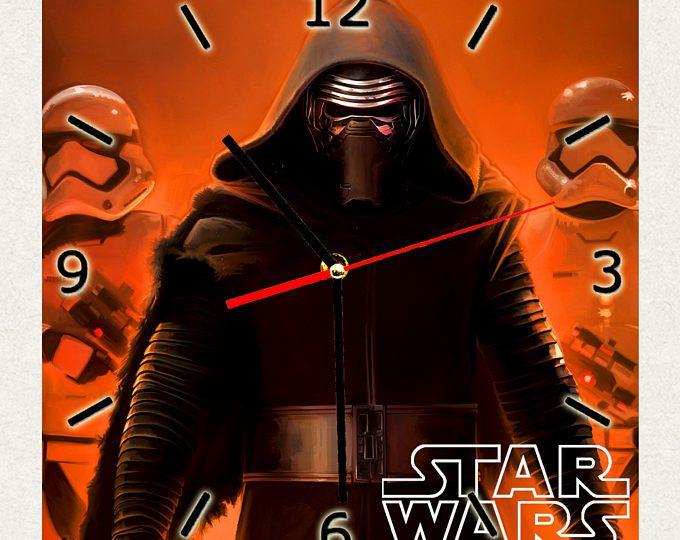 EL mejor reloj STAR WARS de la pared, mejor regalo para la decoración del hogar