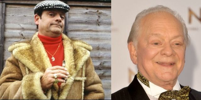 Then and Now: Only Fools and Horses - David Jason as Derek 'Del Boy' Trotter