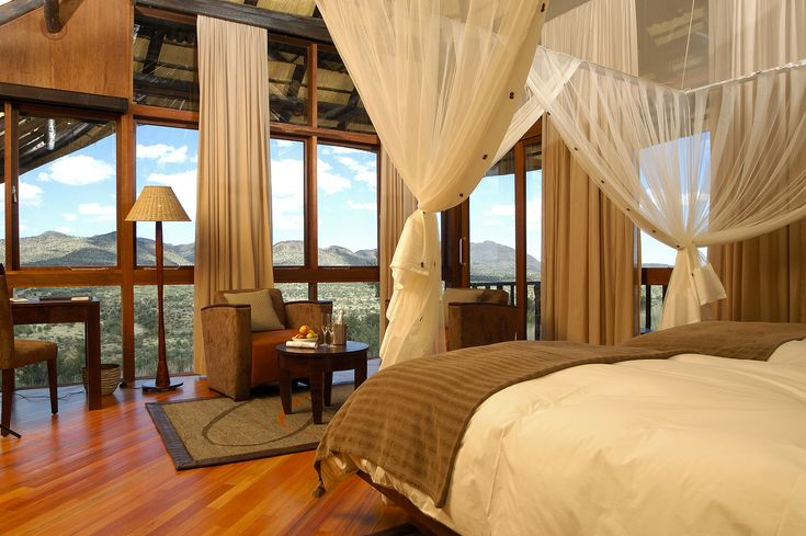 GocheGanas - All our luxurious chalets offer uninterrupted views over the landscapes of the Nature Reserve