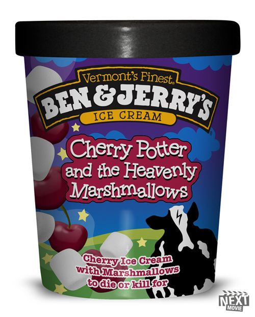 Fictional Ben & Jerry's flavors based on movies.  LOL