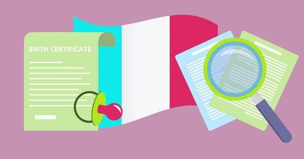 Italian Birth Certificate Translation Template Birth Certificate Certificate Birth