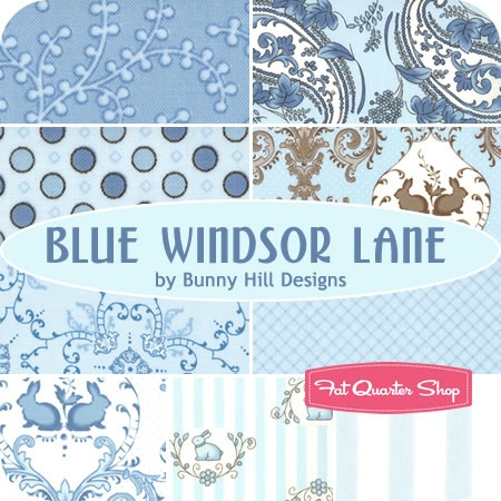 Blue Windsor Lane Junior Jelly Roll Bunny Hill Designs for Moda Fabrics - Fat Quarter Shop