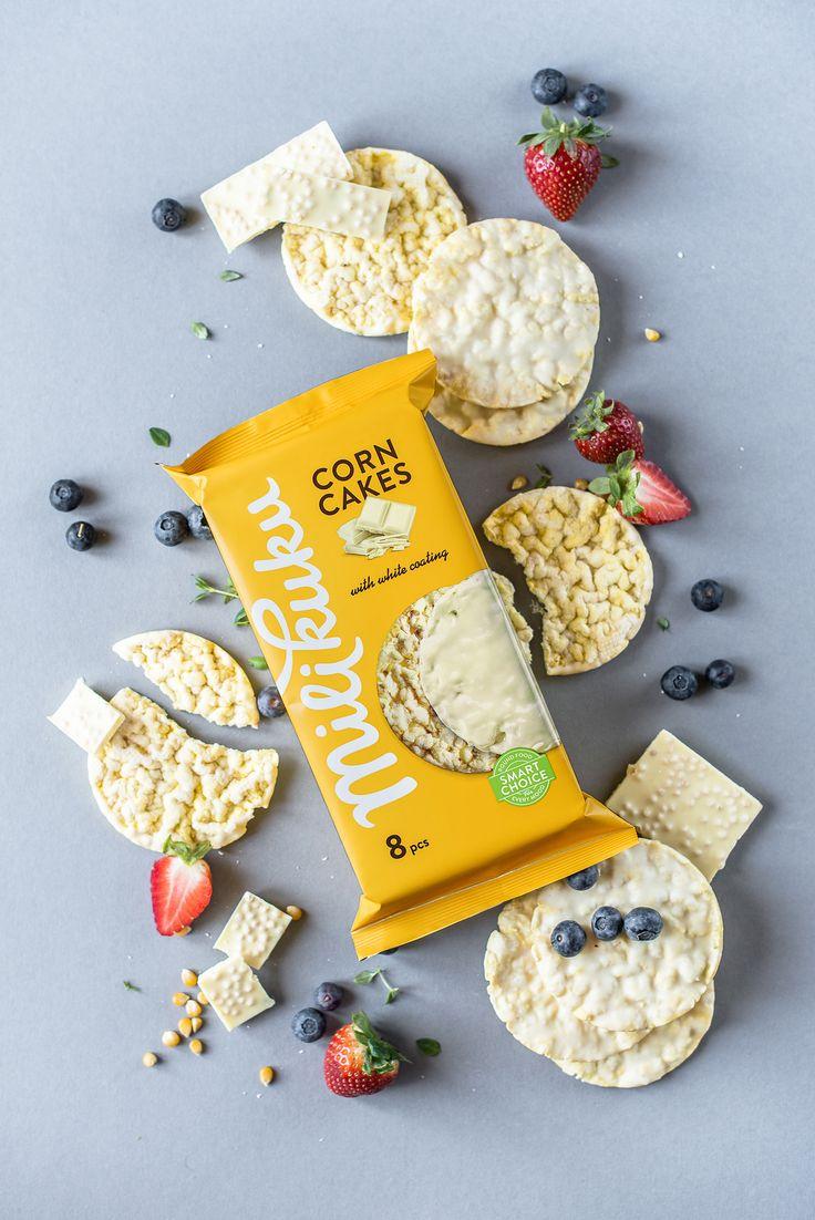 """查看此 @Behance 项目:""""MILIKUKU corn cakes""""https://www.behance.net/gallery/37146175/MILIKUKU-corn-cakes"""