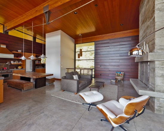 Modern Log Cabin In Coeur Du0027Alene Idaho. Wood And Stone, My Favorite