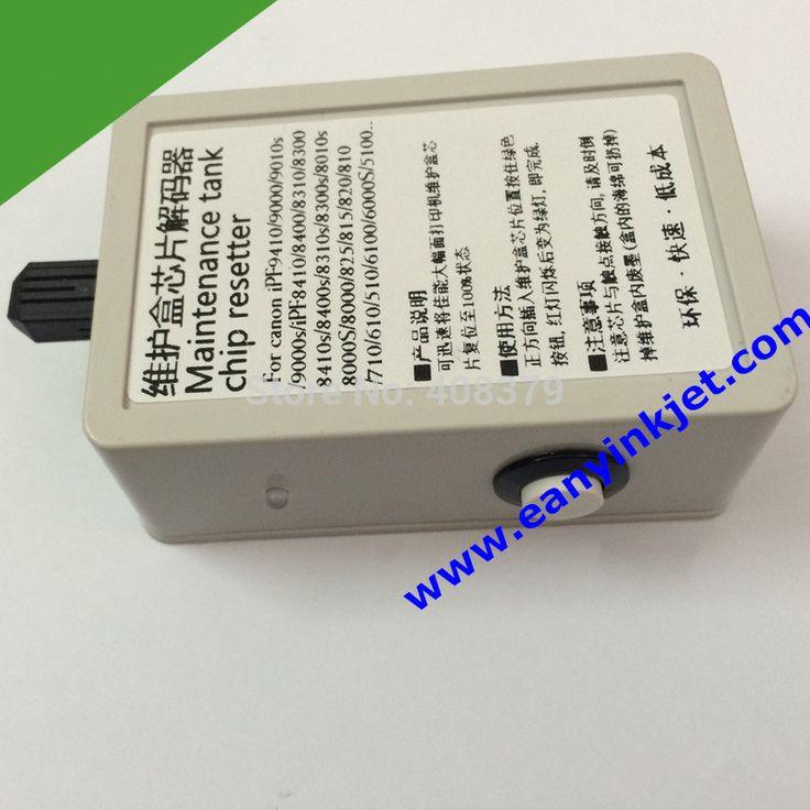 ipf plotter maintenance tank chip resetter for Canon iPF8000 IPF9000 iPF6000 iPF6100 iPF510 iPF610 iPF710 iPF810 printer plotter