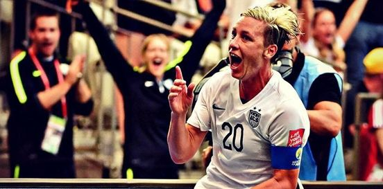 Abby Wambach Won The World Cup But It Wasn't Complete Until She Kissed Her Wife - #fight #love #cause #gay #lgbt #news #celebrities #events #abby #wambach #world #cup #complete #kiss #wife #abby #sarah #huffma #adorable #pride #lesbian