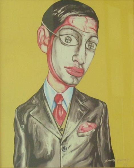 Zeng Fanzhi: Most Expensive Living Asian Artist
