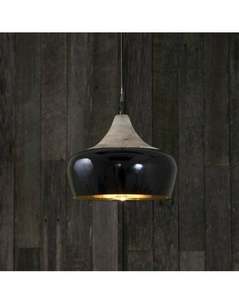 Milano Black Hanging Pendant Light