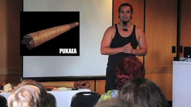 Traditional Maori Instruments – Horomona Hono – MENZA Conference 2011