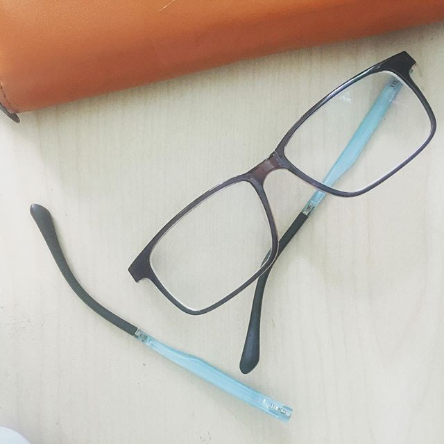 Oh Noes My Owndaysph Eyeglasses Are Broken Was Planning To Visit To Replace My Lenses With Progressive Ones And Not A New Frame Lenses Instagram Frame