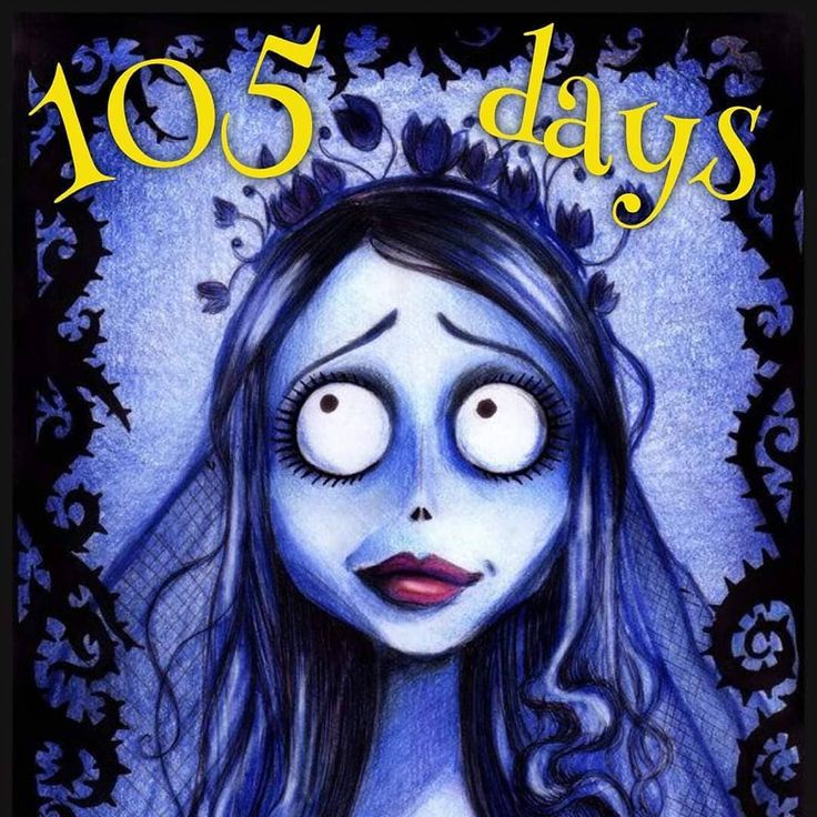 Only 105 more days until Halloween! . . . timburton