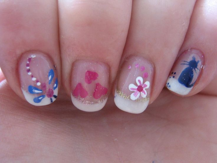 7 best Kids nails images on Pinterest | Kid nails, Baby girl nails ...