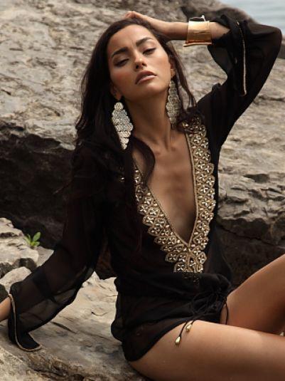 Indya Noir | Zeugari Beachwear Inc.