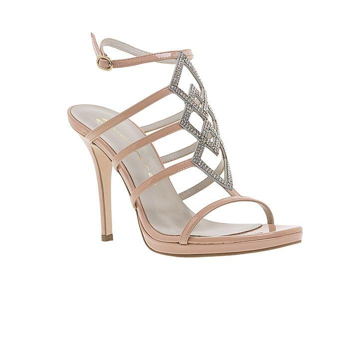 1008B35-NUDE PATENT www.mourtzi.com #sandals #heels #mourtzi #greekdesigners #nudes #bridal