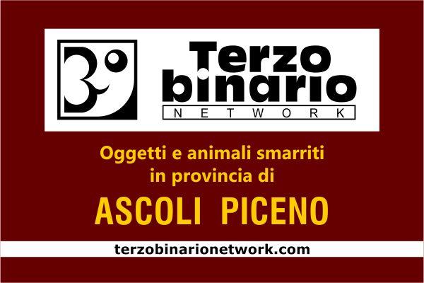 Oggetti e animali smarriti in provincia di Ascoli Piceno