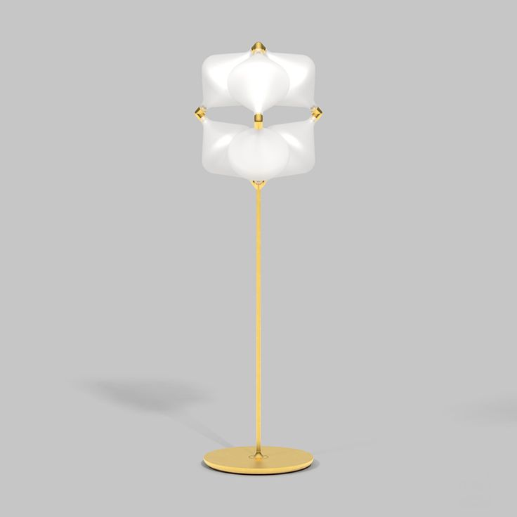 The Clover array is a direct descendent of the Super Clover a large geometric lighting form based upon extensive study of the opportunities presented by ... & 259 best Furniture - Lamps images on Pinterest   Lamp light ... azcodes.com