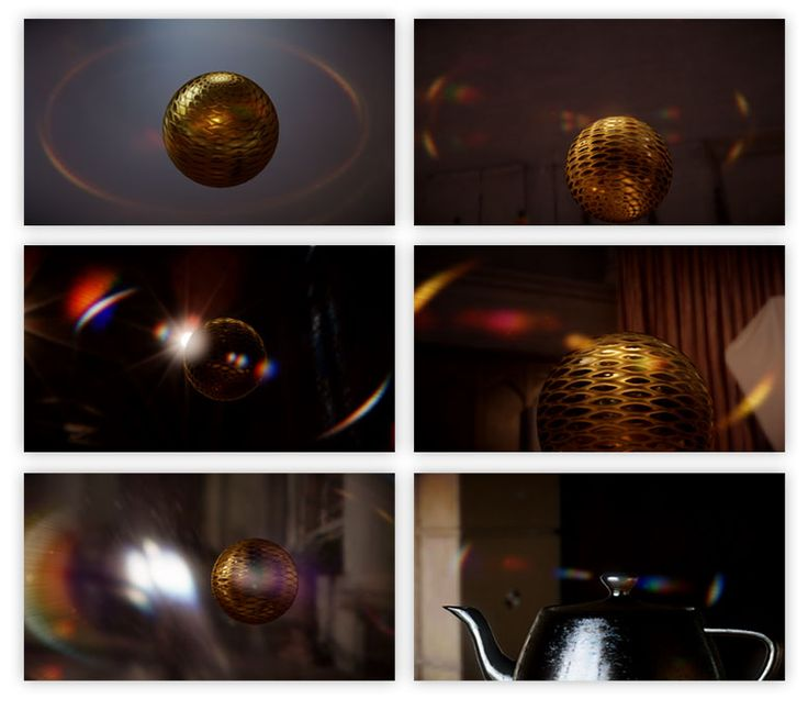 Lens flare is a photographic artefact, caused by various interactions between a lens and the light passing through it. Although it is an art...