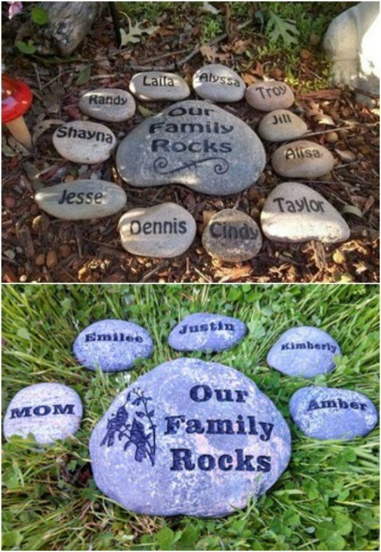 19. Family Rock Garden