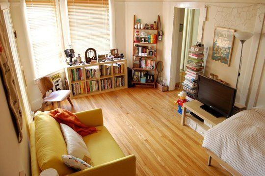 Bryan's Sunny Studio — Small Cool Contest | Apartment Therapy