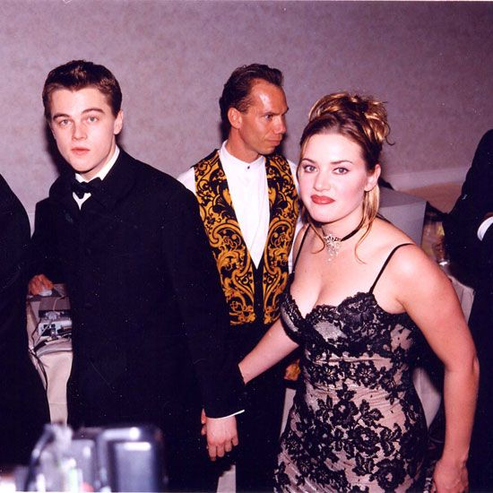 A Look Back At Years Of Glamorous Golden Globes Leo And Kate Leo Dicaprio Leonardo And Kate