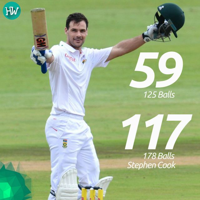 Stephen Cook's contribution helped South Africa to win against Sri Lanka in style! #SAvSL #StephenCook #SouthAfrica #cricket
