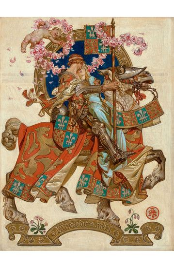 J.C. Leyendecker's Honeymoon, which originally appeared on the cover of The Saturday Evening Post in...