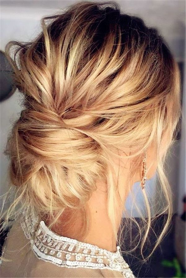 Updos For Medium Length Hair Lovehairstyles Com Medium Length Hair Styles Medium Hair Styles Wedding Hairstyles For Long Hair