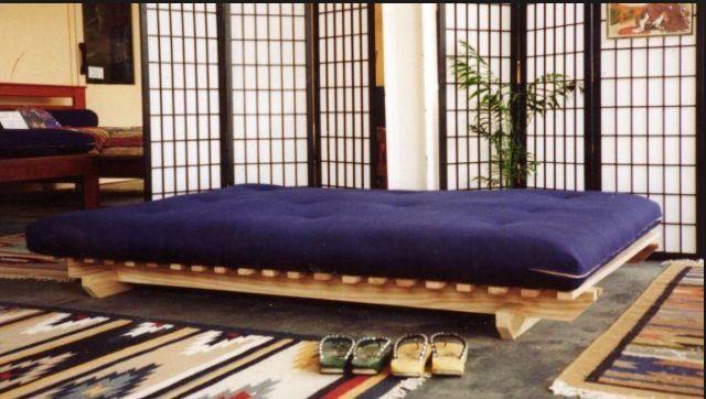 Mediterranean Bedroom  Futon bed:
