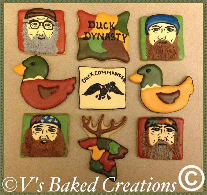 Duck Commander Cookies