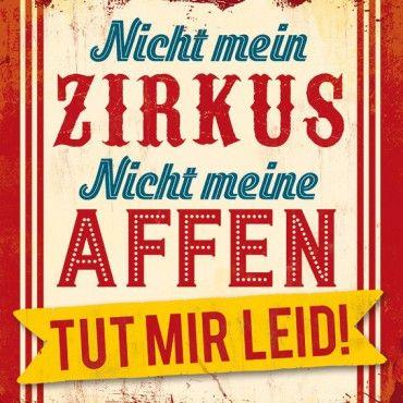 HOMEADE IN HAMBURG Kühlschrankmagnet Zirkus