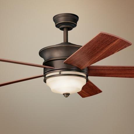52 kichler hendrik olde bronze ceiling fan