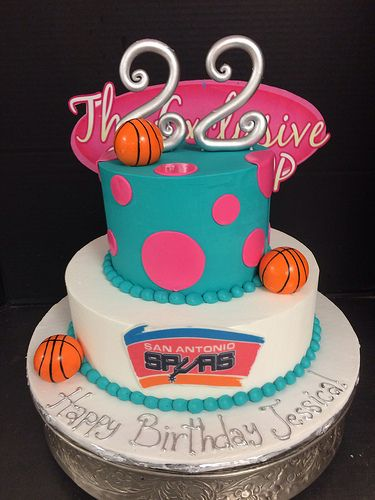 Spurs Cake by Exclusive Cake Shop