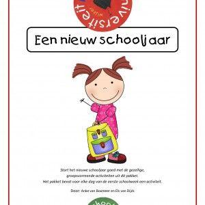 Start het nieuwe schooljaar goed met de gezellige, groepsvormende activiteiten uit dit pakket. Het pakket bevat een activiteit voor elke dag van de eerste schoolweek .